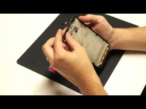PHONEDOCTORS.com presents the Samsung Note i717 Screen Replacement Tutorial.  Discover how to replace your broken glass and LCD with the replacement LCD, Digitizer and Tools from http://bit.ly/15UP0Ej