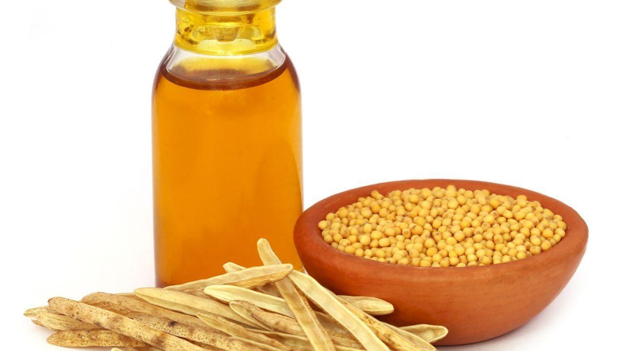 فوائد زيت الخردل للعظام Mustard Oil Hot Sauce Bottles Food