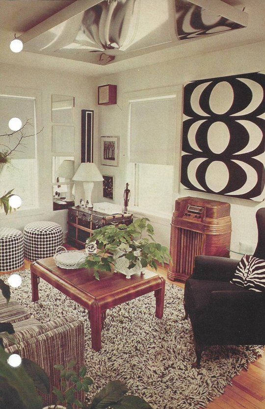 Style Time Capsule Decorating Advice from 1975 70s home