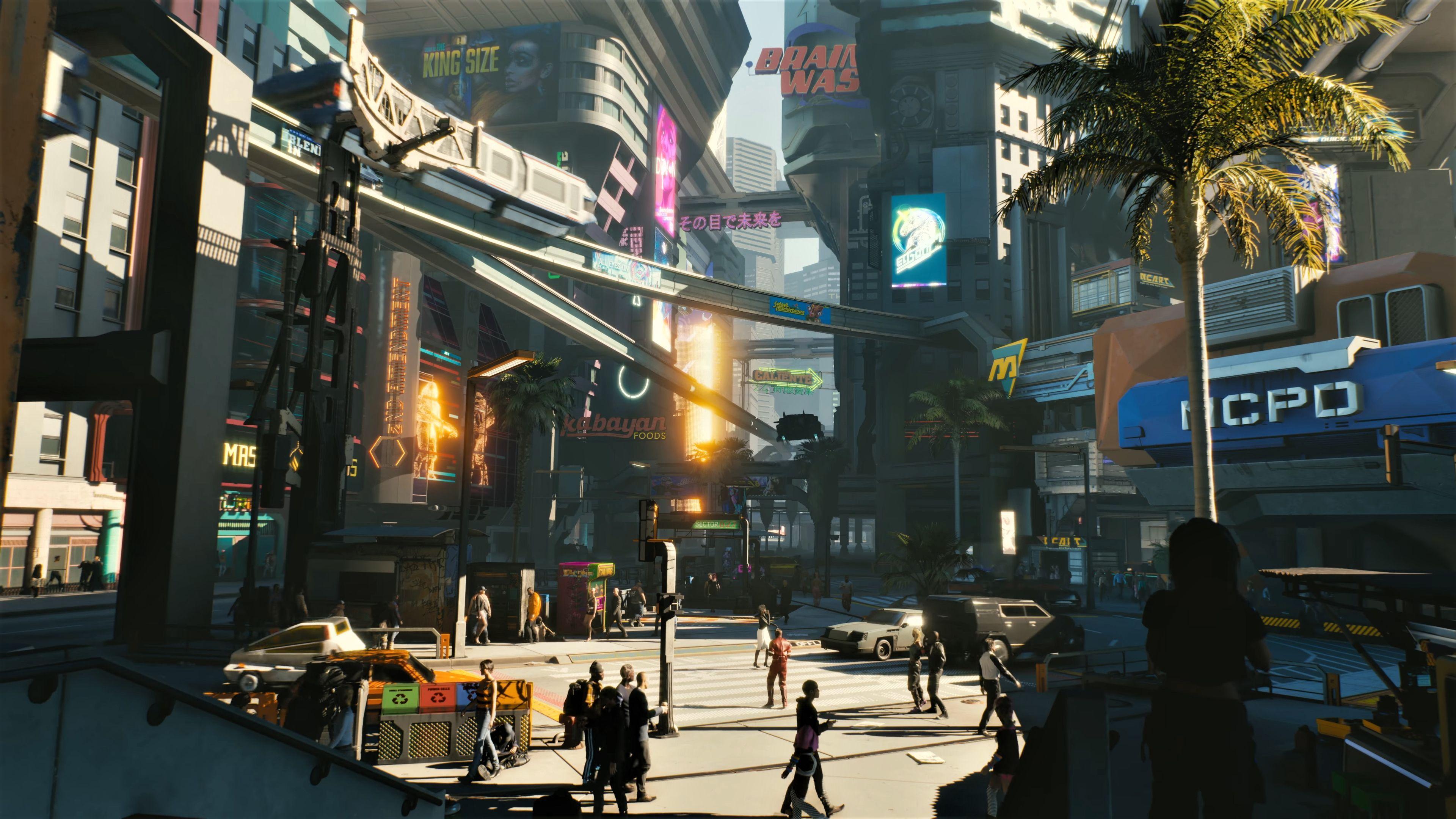Cyberpunk City 4k Hd Wallpapers Digital Art Wallpapers In 2020 Cyberpunk City City Wallpaper Cyberpunk 2077