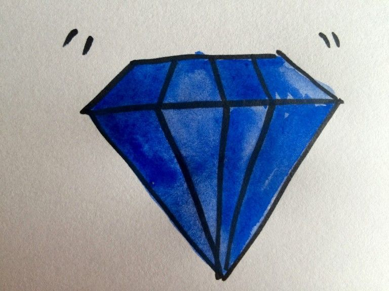 Your First Draft is an Uncut Diamond