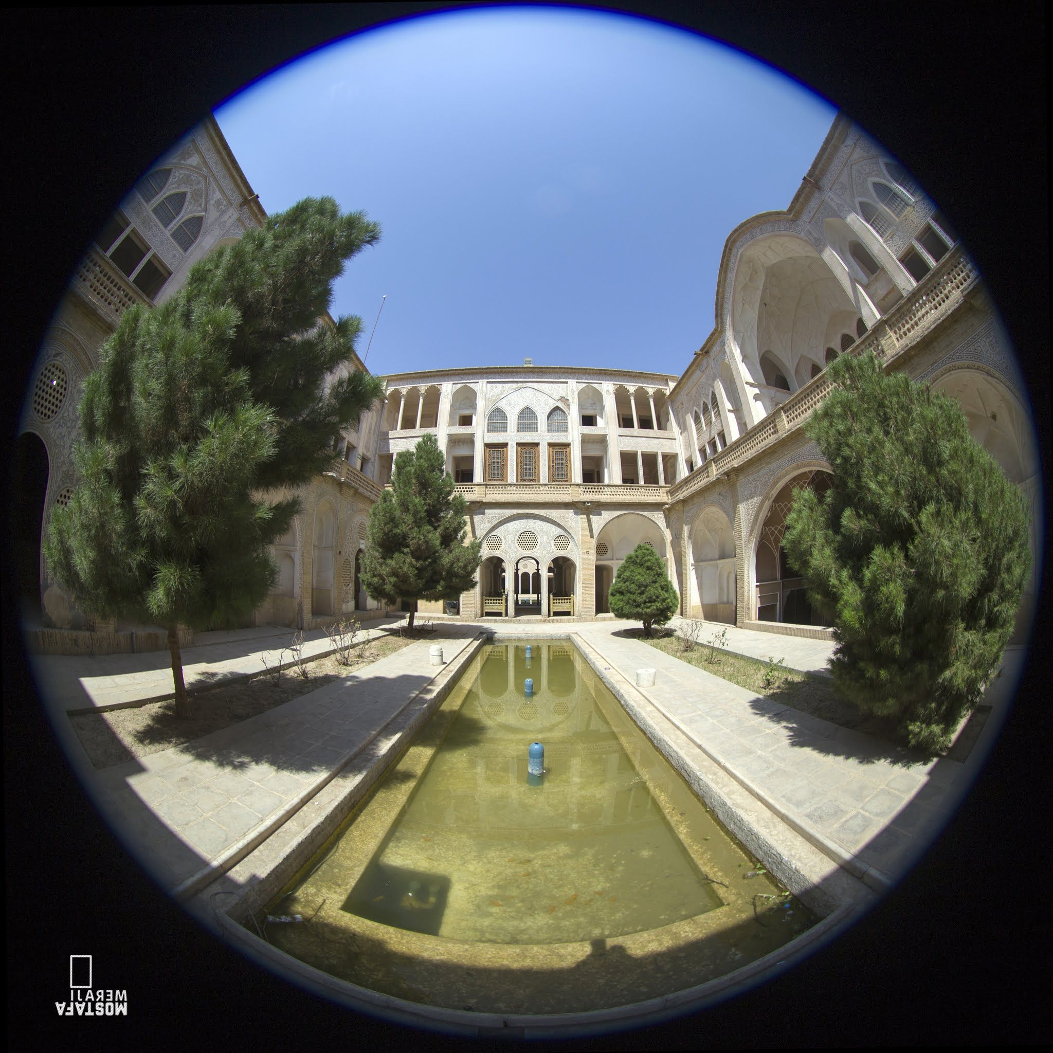 Fisheye Lens Canon Fisheye Lens Iran Mostafa Meraji Monument Monuments Beautiful Iran Architectural Photograph Photo House Styles Mansions