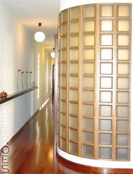 Resultado de imagen de paredes de cristal con esquinas - Cristales decorativos para paredes ...
