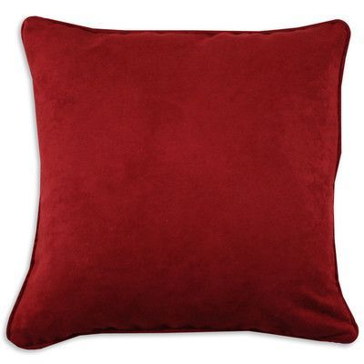 Brite Ideas Living Solid Simply Soft Throw Pillow Color: