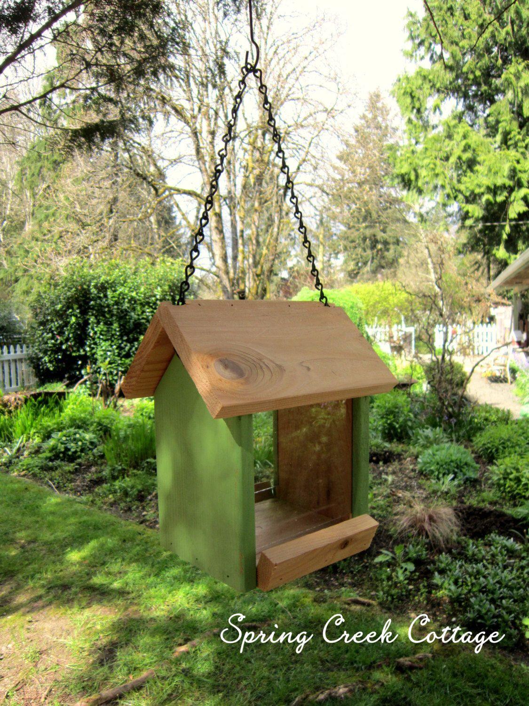 Eco-friendly bird feeder