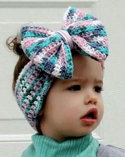 Banda para el cabello tejida a ganchillo. | gorros a crochet ...