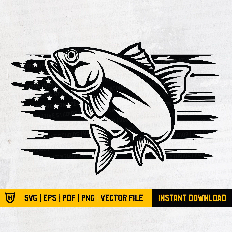 Download America Fishing Svg Fishing Distressed American Usa Flag Etsy In 2021 Fishing Svg Svg Bass Fishing Svg