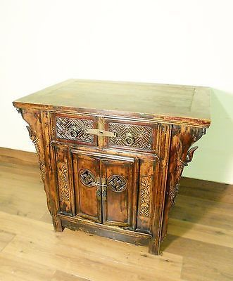 "Antique Chinese ""Butterfly"" Cabinet (5721), Circa 1800-1849"