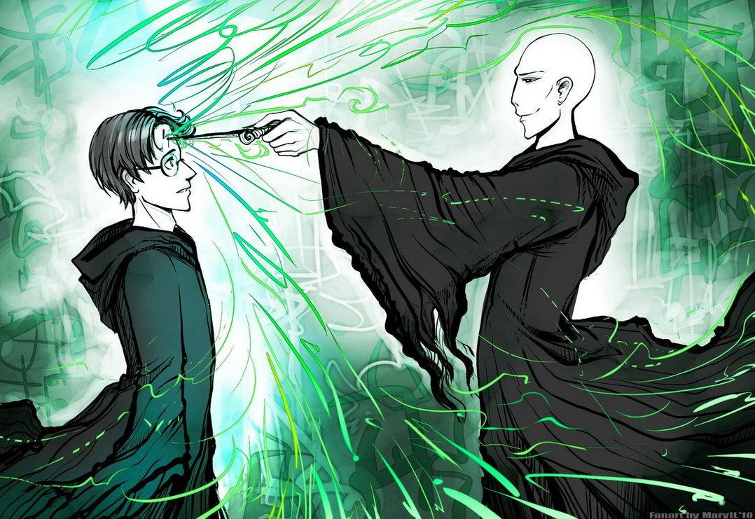 Avada Kedavra Voldemort Destroying The Horcrux Out Of Harry Potter Kedavra Avada Voldemort
