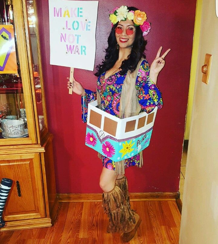 hippie costume halloween ideas pinterest costumes. Black Bedroom Furniture Sets. Home Design Ideas