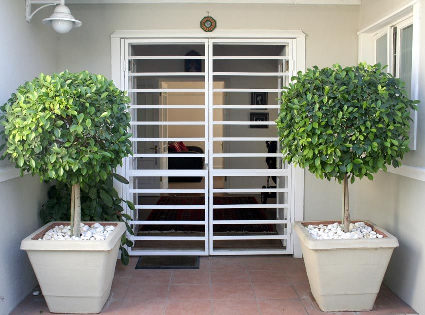 Front Door Shutters To Secure Patio Or Sliding Doors