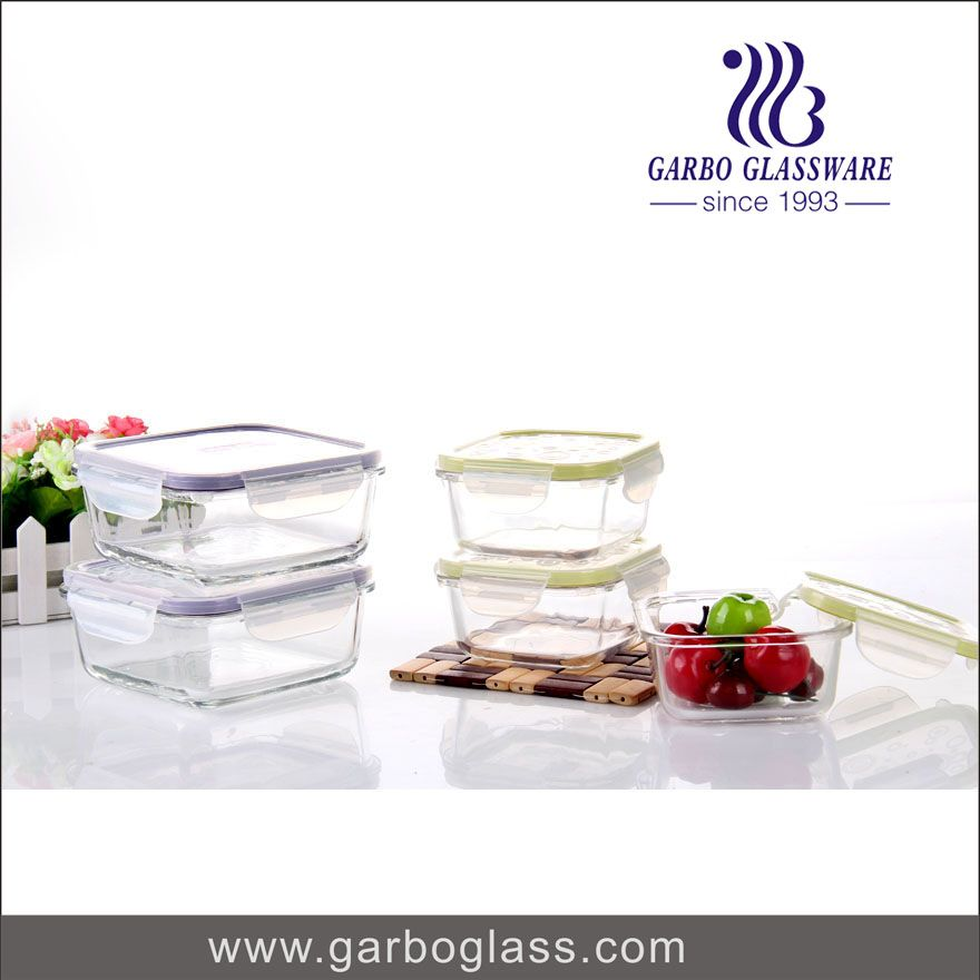 heat resistant glass food canisters