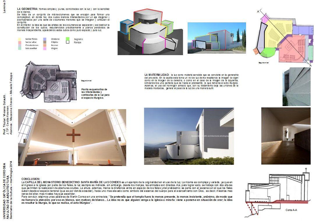 analisis de la iglesia de los benedictinos en la catedra de morfologia