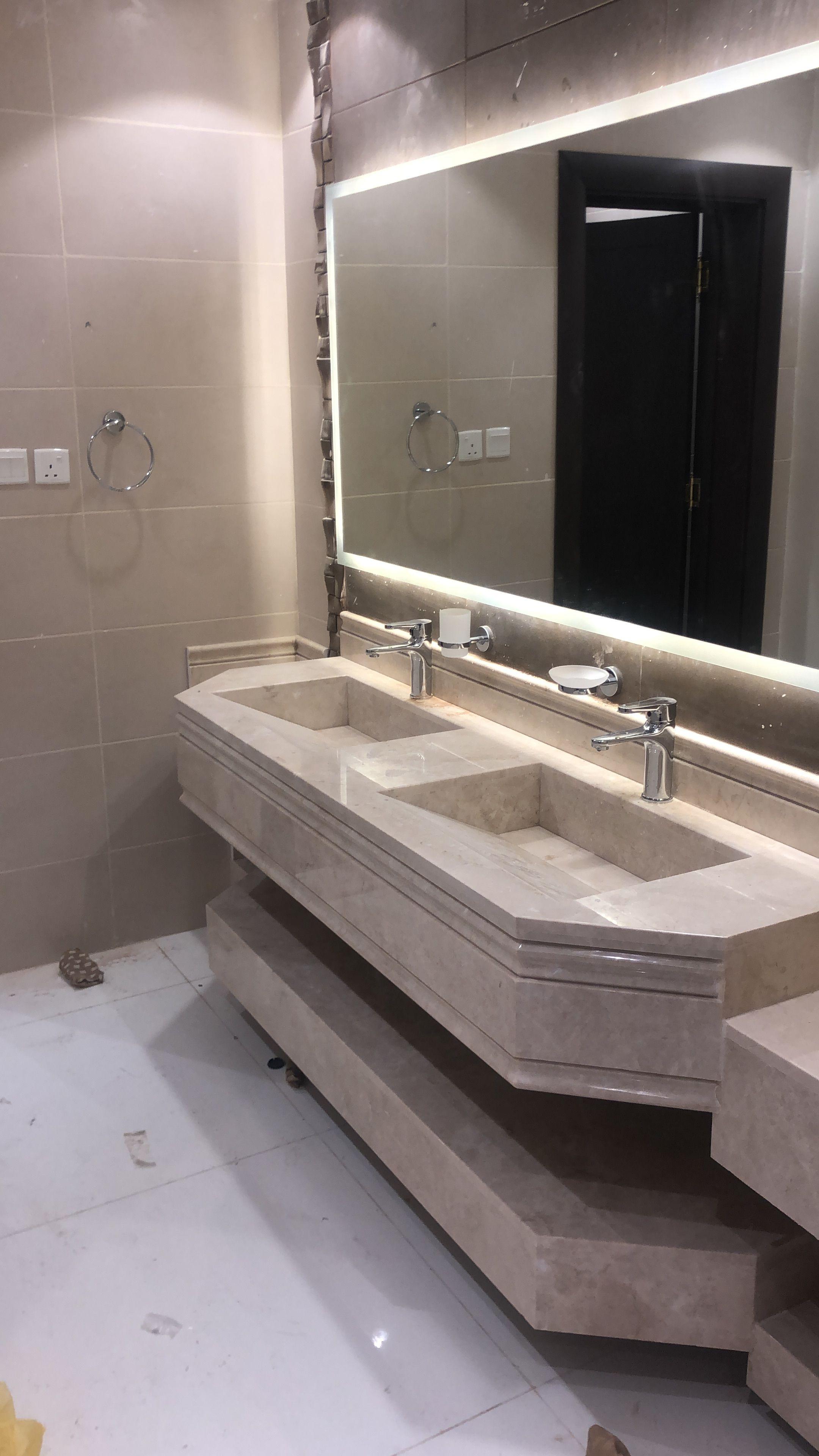 Pin By Asma Almashani On Projects To Try Restroom Design Small Bathroom Decor Bathroom Decor