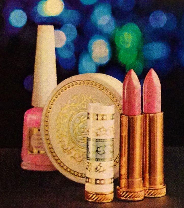 Clairol 'Go Lights' Lipstick, Powder Compact & Nail Polish, 1965