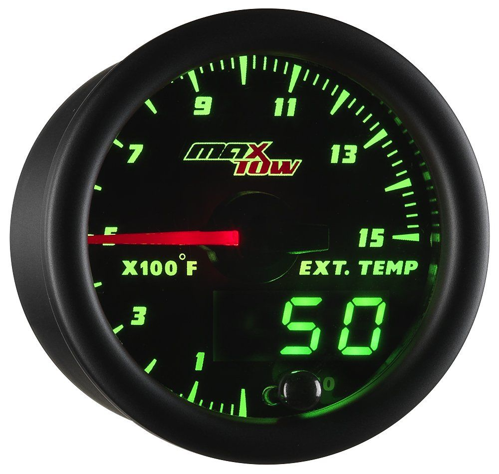 White LED Backlit GlowShift Tinted Series 100 PSI Fuel Pressure Gauge Kit for Car /& Truck 2-1//16 52mm Smoked Lens Includes Sensor