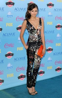 Pactar con el Diablo por...: Teen Choice Awards 2013. Selena Gomez, Nina Dobrev, Sandra Bullock, Shay Mitchell y Crystal Reed