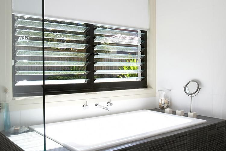 Bath Louvre Windows Beautiful Bathrooms Bathroom Renovations