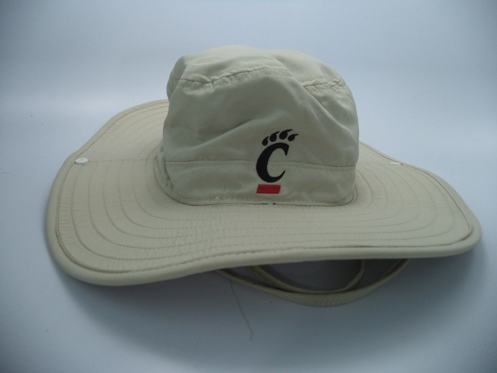 8a116fa63dfc5  12 - Cincinnati Bearcats Adidas Ncaa Official Team On Field Safari Hat Cap  S M