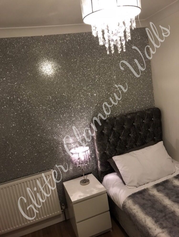 glitter wallcovering glitter glamour walls (With images