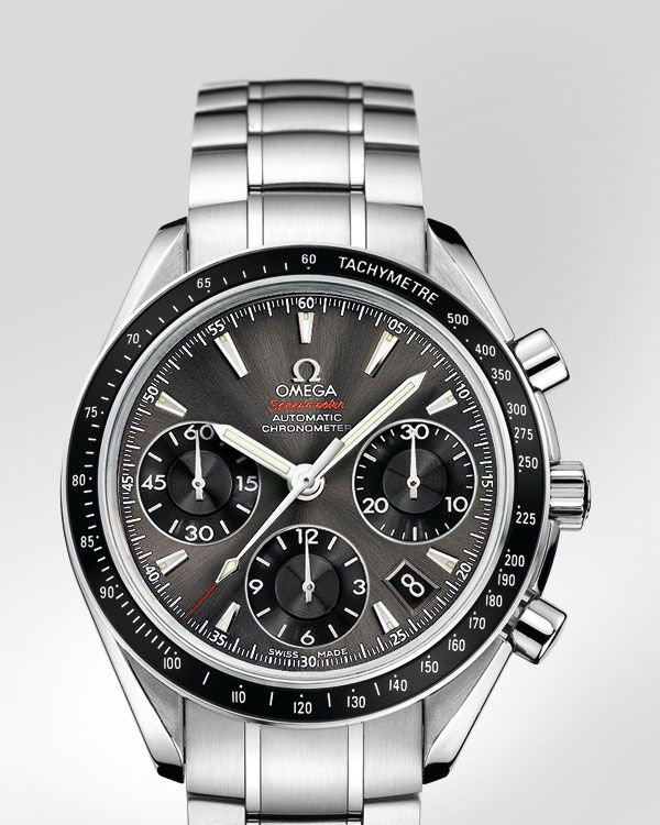 Speedmaster Date   Day-Date Chronograph 40 mm Date - Steel on steel -  323.30.40.40.06.001 34fab8f18ab