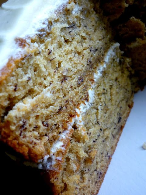 My sugar coated life...: Banana cake with cream cheese frosting