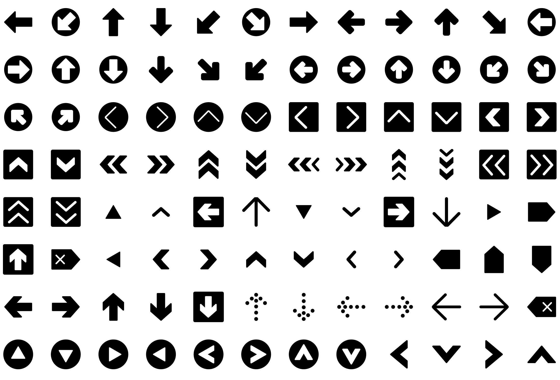 Glyph Icons Premium Pack Round Icons Glyph Icon Glyphs Icon