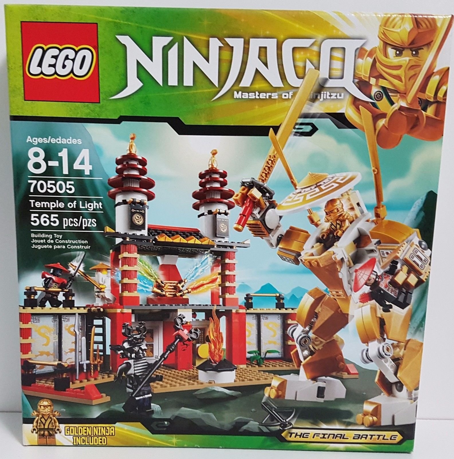 eb3d21fc94dcd LEGO Ninjago Set 70505 Masters of Spinjitzu Temple of Light Final Battle  NEW 5702014972926 | eBay $169.96 #lego #ninjago