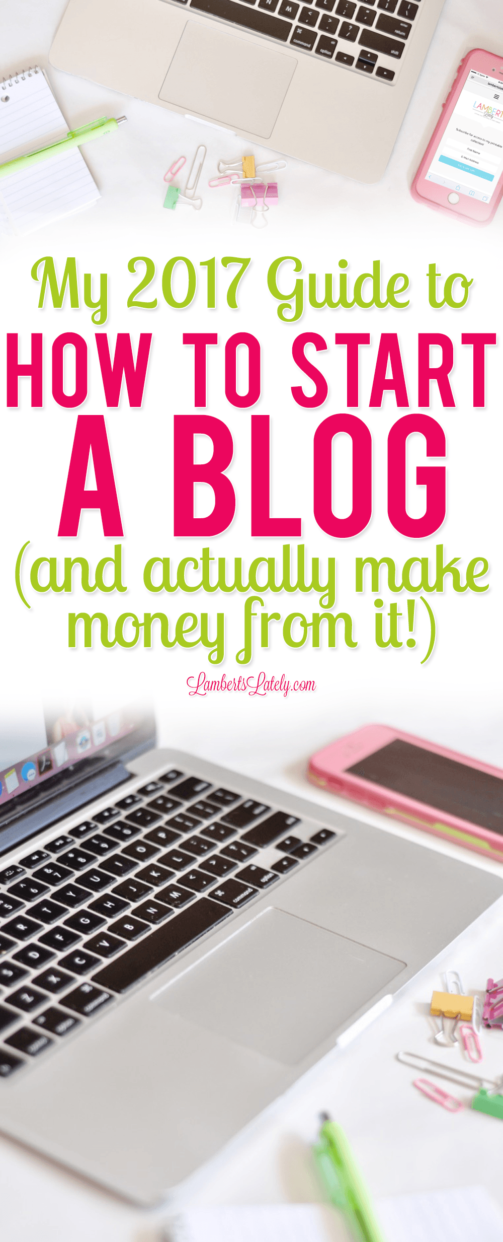 How To Start A Blog In   Actually Make Money From It