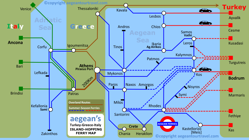 Map Of Italy Greece And Turkey.Route Map Italy Greece Turkey Travel Destination Details
