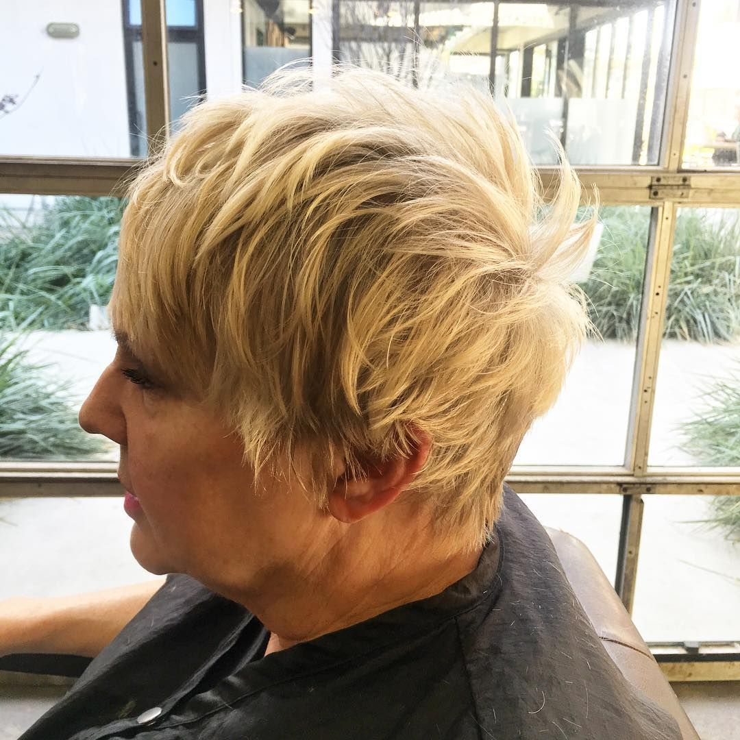 Modern Haircuts for Women over  with Extra Zing  Blonde pixie