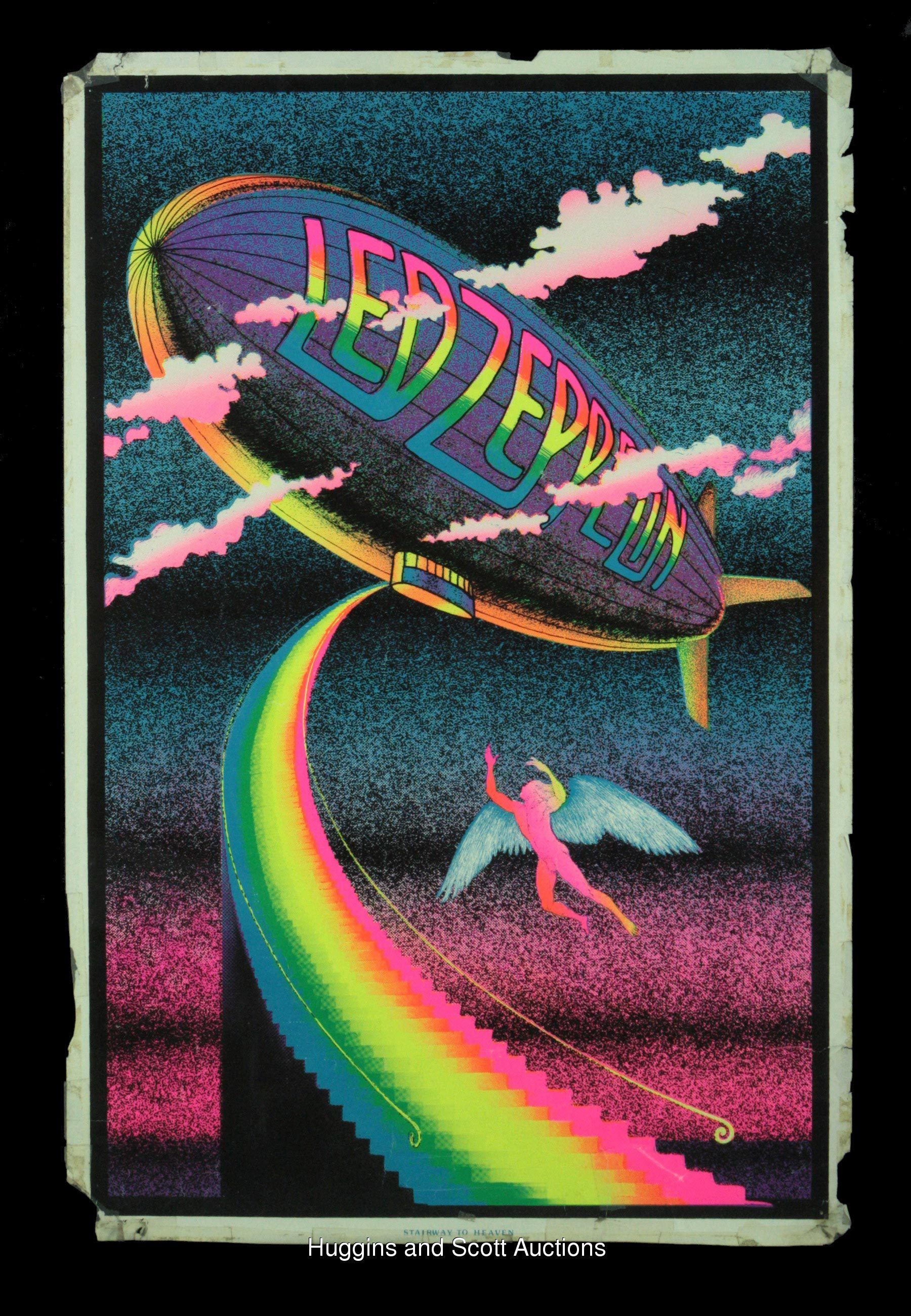 Blacklight Music Posters