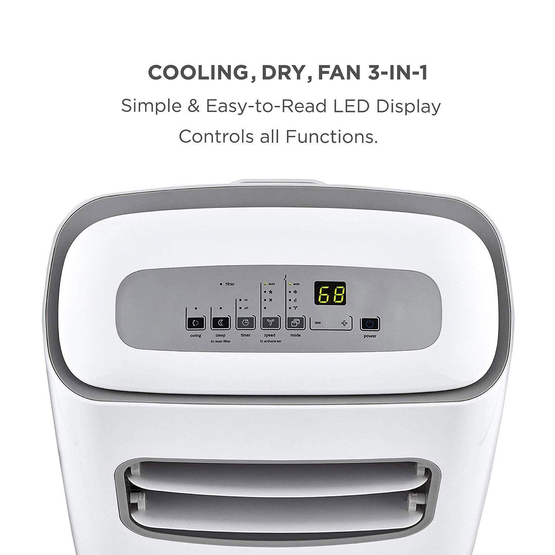 MIDEA MPF08CR81E Portable Air Conditioner 8000 BTU