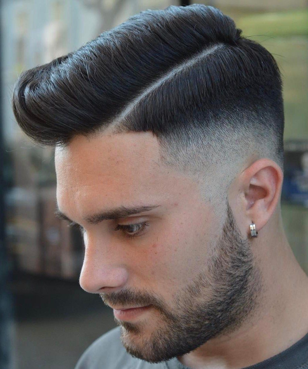 Side Parted Haircut For Thick Hair Mens Hairstyles Medium Thick Hair Styles Side Part Haircut