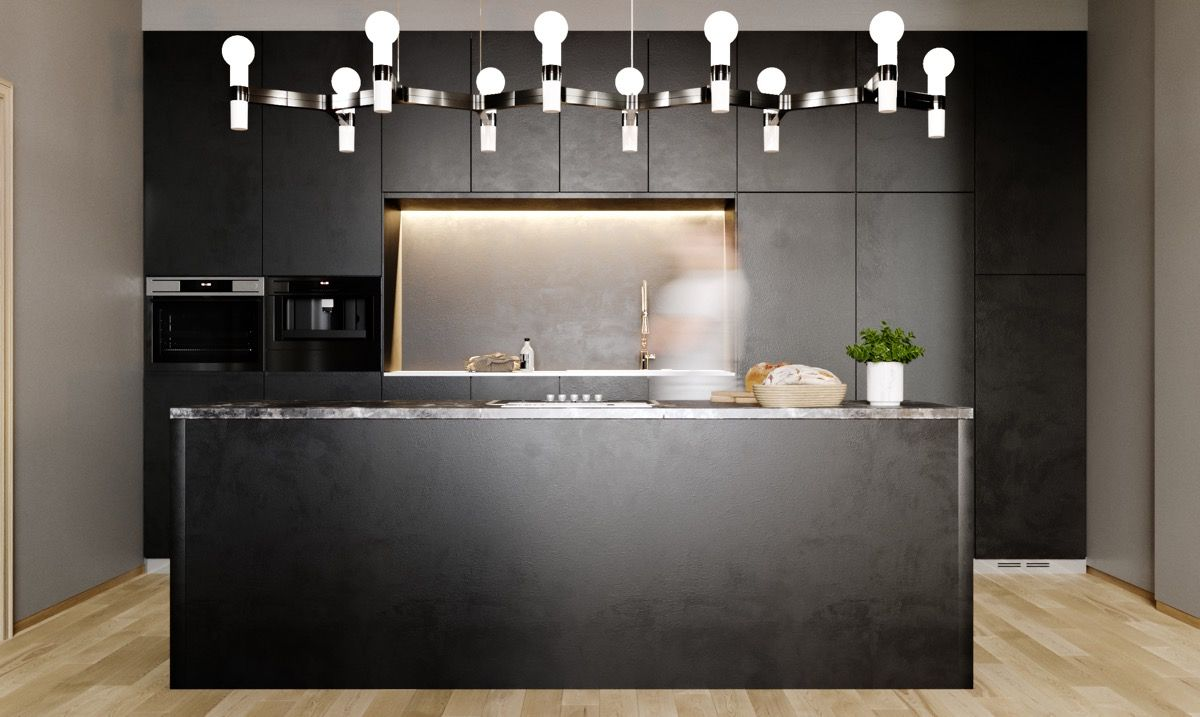 examples of awesome modern kitchen lighting kitchen pinterest