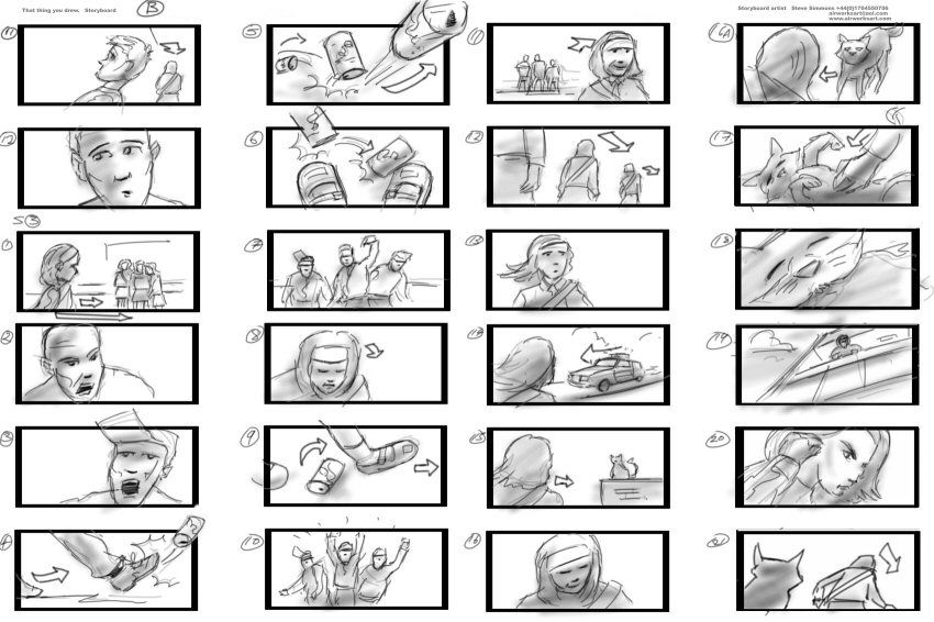 Film Storyboard Jurassic Park Storyboard Artist David Lowery