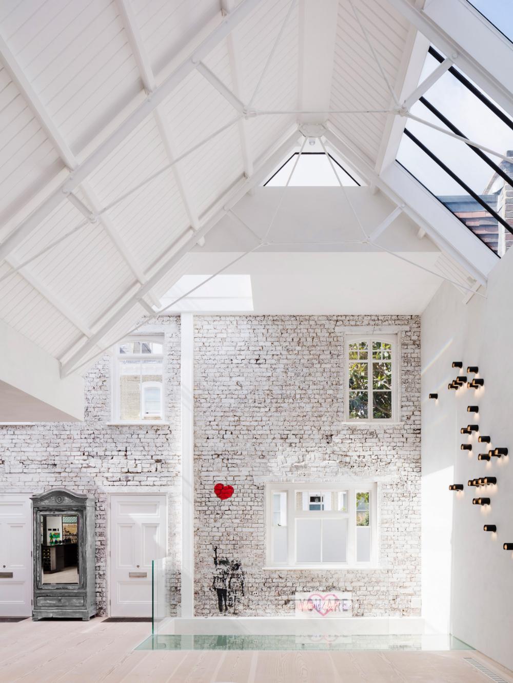 Rodić Davidson merges art studios to create home in London