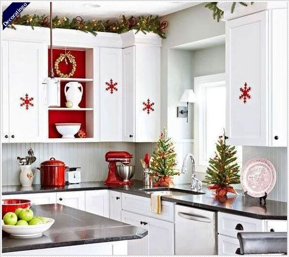 Decorating Your Kitchen This Christmas -  http://www.decoratingo.com/decorating-your-kitchen-this-christmas/  #ChristmasKitchenDecorations, #DecorateYourKitchenForChristmas