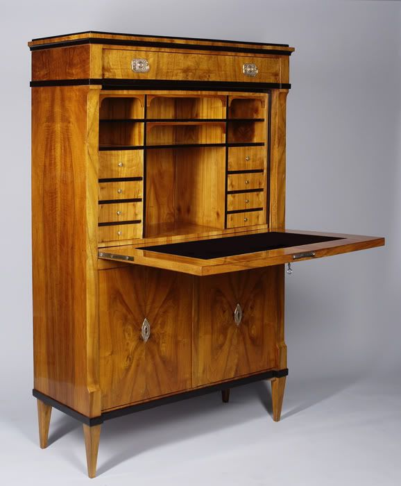 Nice Biedermeier Furniture,characterized By Simplicity, Refined Lines And  Artistic Details. True Biedermeier Is