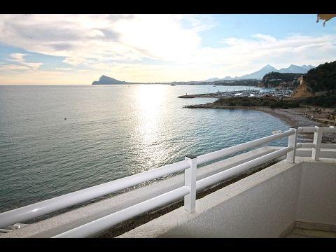 Апартаменты на первй линии с видом на море в Альтеа комплекс Panorama. Н...
