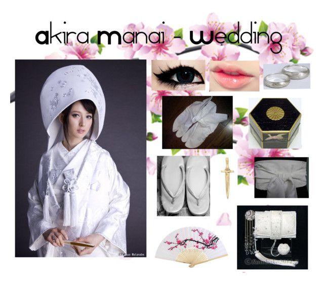 """""""Akira Manai - Wedding"""" by rubyhinamori ❤ liked on Polyvore featuring art"""