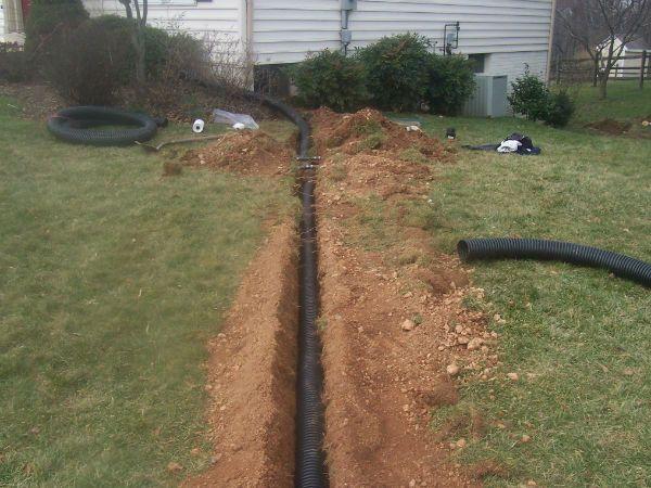 Choosing Good Drainage Solutions Backyard Idea   Drainage ...