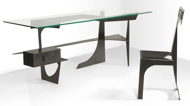 francesco marino di teana 1920 2012 mobilier architectural 1956 bureau architectural 1956. Black Bedroom Furniture Sets. Home Design Ideas