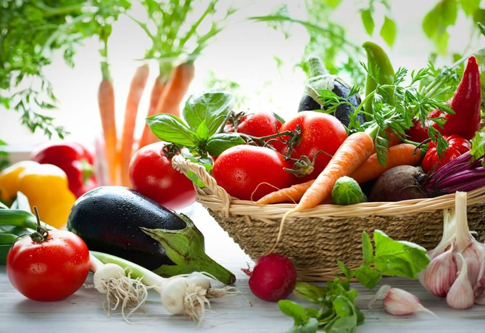 Vegetales riquísimos