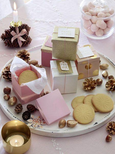 Adventskaffee Tischdeko In Zartem Rosa Ziemassvetki Pinterest