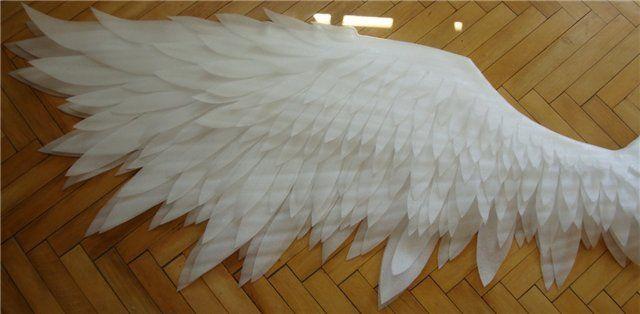 Как сделать крылья своими руками 668