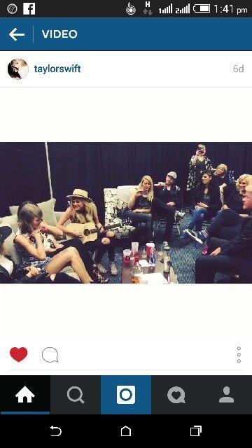 Taylor and gang