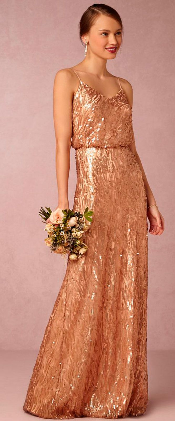 Copper and rose gold wedding vestidos lindos pinterest rose copper and rose gold wedding ombrellifo Images