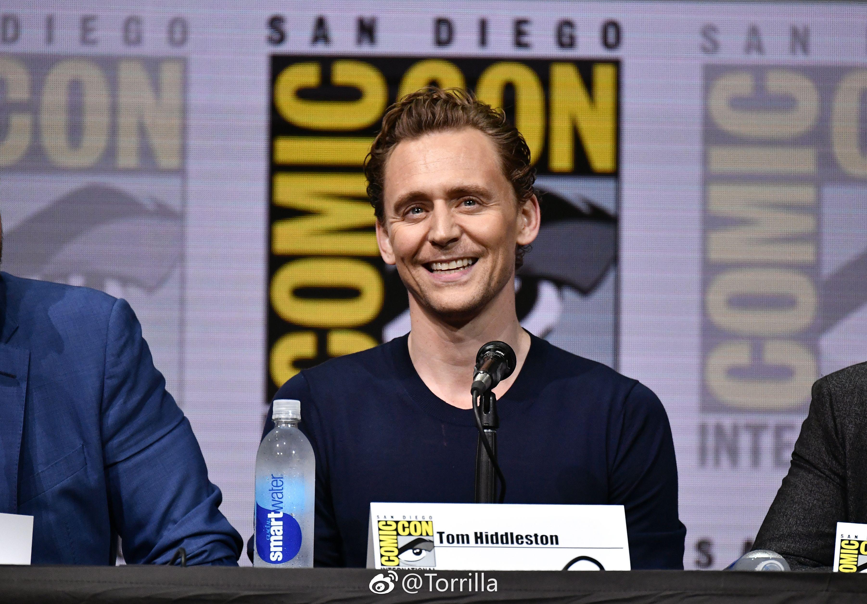 Tom Hiddleston. #SDCC2017