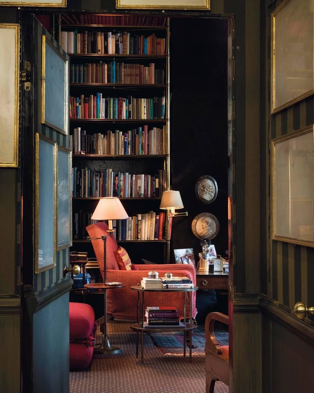 Home Library Design, Home Libraries